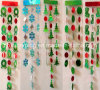 De Plastic Hangende Decoratie van Kerstmis met 5 Asst