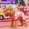 Le chien chaud de mode enduit les vêtements en gros d'animal familier d'hiver