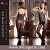 Elegant Lingerie Black Sheer Bodystocking (KS14-136) chaude de mode de Madame