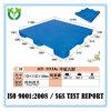 Pallet solido della plastica del commercio all'ingrosso di basso costo della superficie piana 1100*1100