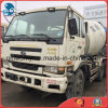 caminhão usado Ud do misturador concreto de Nissan da Um-Ano-Garantia de 25ton/6~8cbm 6*4-LHD-Drive (motor 253KW)