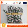 Luva da jardinagem de flor com punho Dgb312 da faixa