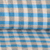 Cotton puro Yarn Dyed Woven Cloth per Shirt