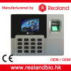 Simple Access Control를 가진 생물 측정 Fingerprint Time Attendance Recorder
