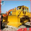 Escavadora hidráulica usada grande/pesada do trator da esteira rolante de KOMATSU D155A/225kw com estripador novo