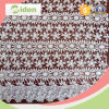 In water oplosbare Daisy Patterns Lace Fabric voor Gordijnen of Hometextile