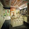 自己によってアセンブルされる現代純木の食器棚