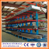 Double Side Blue Arm Cantilever Rack for Steel Pipe Storage