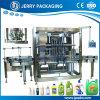 Llenador líquido de la botella de flujo del contador del producto de limpieza de discos detergente automático lleno de la loción