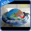 Publicité gonflable hélium OVNI Planète Balloon avec l'impression numérique