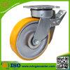 産業頑丈な旋回装置は金属の合計ブレーキと足車を行う