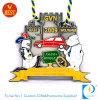 Medalha por atacado do metal da publicidade de Gvn do revestimento do cozimento da alta qualidade do presente de China