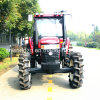 セリウムが付いている中国4WDの農業トラクター