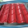 塗られる石造りの鋼鉄チップが付いている金属の屋根瓦