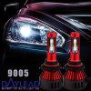 Nuovo l'alto potere incluso di disegno alloggiamento rosso scheggia la mini LED lampada capa 6000k di 48W 9005