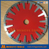 Cutting Diamond Segmented Saw Blade 1 Arbol para Asfalto, Ladrillo