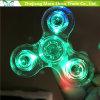 De snelle Transparante LEIDENE van Lagers Lichte Vinger friemelt het Speelgoed van de Spinner van de Hand