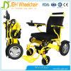Constructeur ultra-léger se pliant de fauteuil roulant de pouvoir