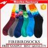 Großhandelsformbunter Mens-glückliche Socken und kundenspezifische Socken