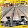 Cadena de producción industrial modificada para requisitos particulares de la barandilla de la aleación de aluminio