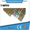 3.3 Tornillo galvanizado 75m m adicional X clavos clasificados plástico de la tira de 22 grados
