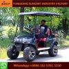 Gute Qualitäts4 Seater elektrische Golf-Karre mit grossem Reifen