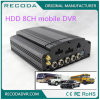 Black Mobile Vehicle DVR 8 Channel Input M718 Driving Recoder 4G Video Call