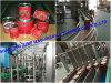 Вся линия фабрика обрабатывая машины варенья томата