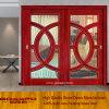 Porta deslizante de vidro luxuosa de frame de madeira do projeto (GSP3-019)