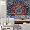 Tapisserie du carré de Mandala indienne à l'exportation de 2017 avec tapis de yoga imprimé