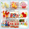Poulet de fournisseur de jouet de peluche de la Chine de poulets bourré par peluche de poulets de jouet bourré par jouets mous animaux mous de jouet de poulet