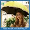 Regalo promocional de la manera de la fábrica del OEM que dobla Sun y el paraguas de la lluvia