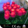 庭のシミュレーションの菊LEDライト