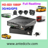 4 mobiler DVR Schreiber des Kanal SSD-Festplattenlaufwerk-mit GPS WiFi 3G/4G für Fahrzeug-Bus-LKW-Überwachung