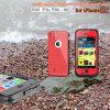 Téléphone mobile imperméable à l'eau Cas pour l'iPhone (cas d'épreuve de 100% pour l'eau, la saleté, la neige, le choc)