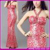 Новое платье вечера 2014 Backless Condole платье клуба Sequins платья пояса сексуальное