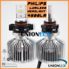 farol H16 5202 do diodo emissor de luz do carro de 3000lm 25W Philips