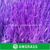 Césped y alfombra artificiales púrpuras de Astro de la hierba