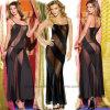Lingerie sexy de modèle de longues dames neuves de robe
