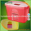 15L Surgical Disposable pp. Plastic Sharps Containers F15