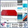 Strato di alluminio ondulato rivestito blu