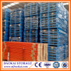 Steel Reinforced 4 Way Entry Auto Parts Industry Warehouse Racking Metal Pallets