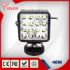 최고 Bright 48W Square LED Working Light LED Truck Light 8-60V Wide Voltage