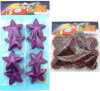 Navidad Decorado gota conjunto de ornamento - Star \ Pinecon