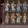 Robe chaude de plage de vente en gros d'usine de femmes de mode de vente (TBLSN155)