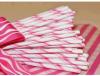 Paglie dentellare della carta a strisce della canna di caramella