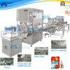 Cadena de producción de relleno líquida linear automática