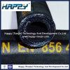 Boyau 4sp en caoutchouc hydraulique d'en 856 DIN pour la distribution de pétrole