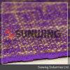 Mat van de Yoga van het Linnen TPE van Sunwing de In het groot Purpere Rubber