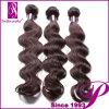インドの人間の毛髪は編む、組合せの長さの拡張毛のアフリカ人(PE-INBD-021)